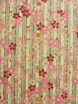縞に桜柄 (税抜き価格15,000円)my-137