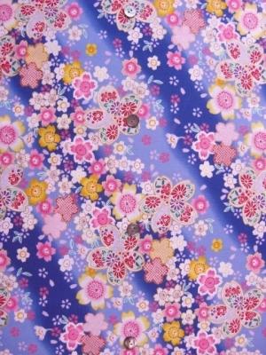 桜の宴/青紫  ※3L/4L可 (税抜き価格15,000円)my-153
