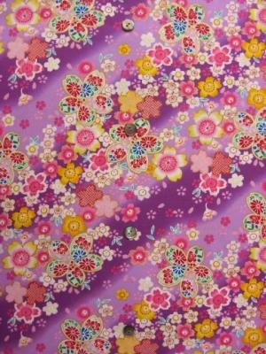 桜の宴/赤紫 ※3L/4L可(税抜き価格15,000円)my-193