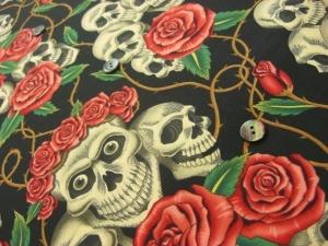 the rose tattoo(skulls & roses) (税抜き価格24,000円)us-001