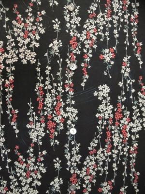 流水桜/ブラック (税抜き価格15,000円)my-234