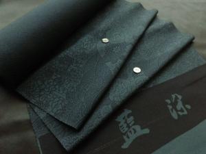 【正絹】京の逸品/藍染 (税抜き価格37,000円)sk-240