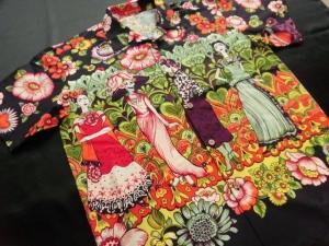 1点物!Frida la Catrina ※現品の2Lサイズ・半袖のみ  (税抜き価格22,000円)ge-365