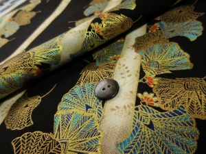 ginkgo leaf ※長袖のオーダーは不可 (税抜き価格17,000円)us-028