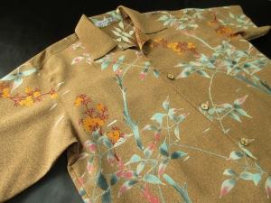 アロハシャツへのリメイク (税抜き価格12,000円)ref-001