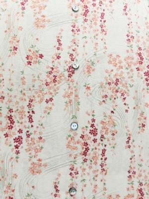 流水桜/ホワイト (税抜き価格15,000円)my-235