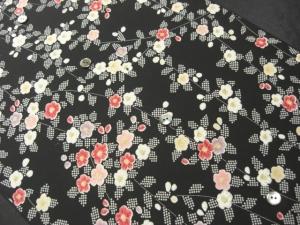 【正絹】万華薫香「京染小紋」 (税抜き価格27,000円)sk-178