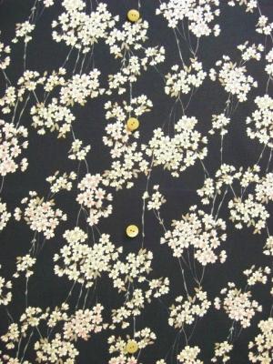 枝桜・黒 ※3L/4L可 (税抜き価格15,000円)ky-788