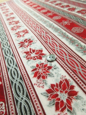 us cotton Romantic striped pattern(税抜き19,000円)