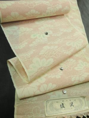 夏塩沢紬「松文」(税別17,000円)my-485